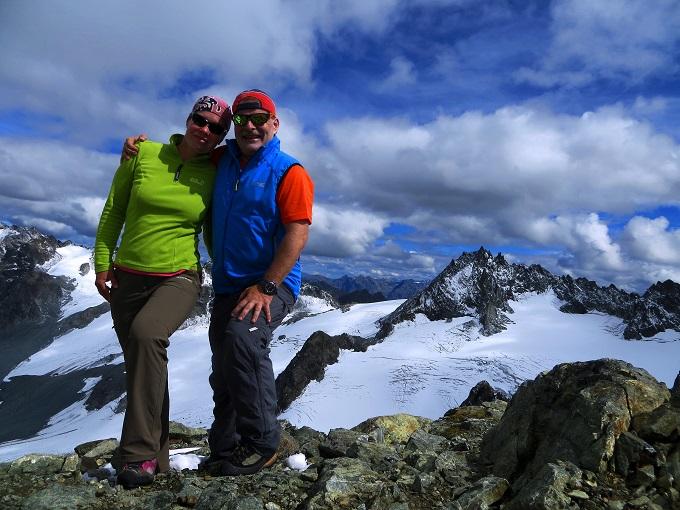 Foto: Andreas Koller / Wander Tour / Über die Wiesbadner Hütte auf den Ochsenkopf (3057 m) / 08.11.2017 02:10:49
