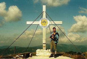 Foto: Wolfgang Dröthandl / Wander Tour / Tirolerkogel - Überschreitung / Gipfelkreuz Tirolerkogel, unmittelbar neben dem Annaberger Haus / 01.02.2011 10:42:36