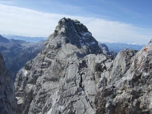 Foto: hofchri / Wander Tour / Watzmann - Überschreitung / der ausgesetzte Grat zur Mittelspitze / 03.10.2009 18:07:06