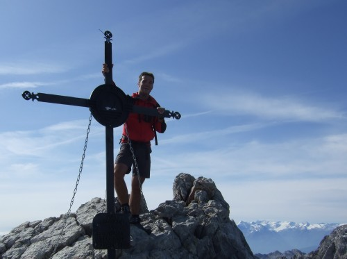 Foto: hofchri / Wander Tour / Watzmann - Überschreitung / Watzmann Mittelspitze (2.713 m) / 03.10.2009 18:10:40