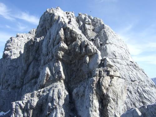 Foto: hofchri / Wander Tour / Watzmann - Überschreitung / Abklettern von der Mittelspitze / 03.10.2009 18:12:11