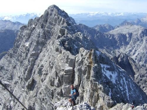 Foto: hofchri / Wander Tour / Watzmann - Überschreitung / zuerst runter, dann wieder rauf / 03.10.2009 18:12:38