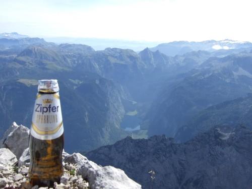 Foto: hofchri / Wander Tour / Watzmann - Überschreitung / nur ein Gipfelbier für 3 Gipfel / 03.10.2009 18:16:04