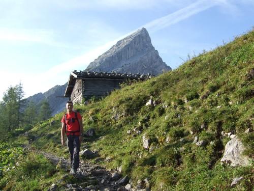 Foto: hofchri / Wander Tour / Watzmann - Überschreitung / bei der Mitterkaseralm / 03.10.2009 18:02:47