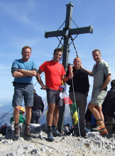 Foto: hofchri / Wander Tour / Watzmann - Überschreitung / alleine wirds nie langweilig / 03.10.2009 18:17:11