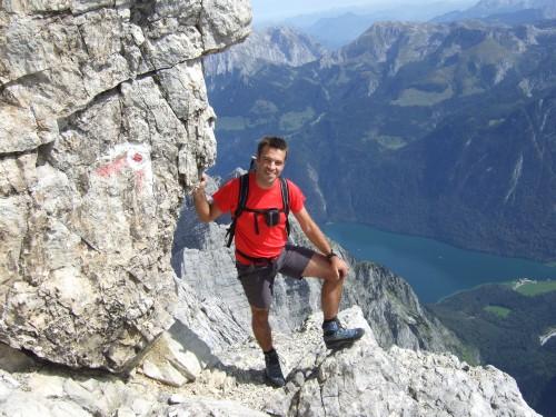 Foto: hofchri / Wander Tour / Watzmann - Überschreitung / Beginn des langen Abstieges / 03.10.2009 18:17:36