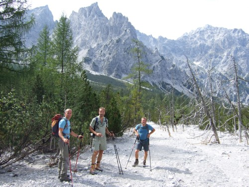 Foto: hofchri / Wander Tour / Watzmann - Überschreitung / gewaltiges Schuttkar  - das Wimbachtal / 03.10.2009 18:18:58