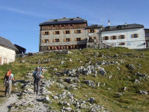 Foto: hofchri / Wander Tour / Watzmann - Überschreitung / Watzmannhaus (1915 m) / 03.10.2009 18:05:12