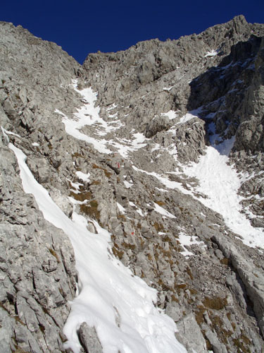 Foto: vince 51 / Wander Tour / Falschkogel und Maldongrat / Aufstieg zum Maldongrat, die Geröllrinne / 04.05.2008 01:26:34