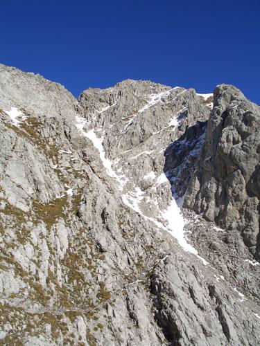 Foto: vince 51 / Wander Tour / Falschkogel und Maldongrat / Aufstieg zum Maldongrat, die Geröllrinne / 04.05.2008 01:25:57