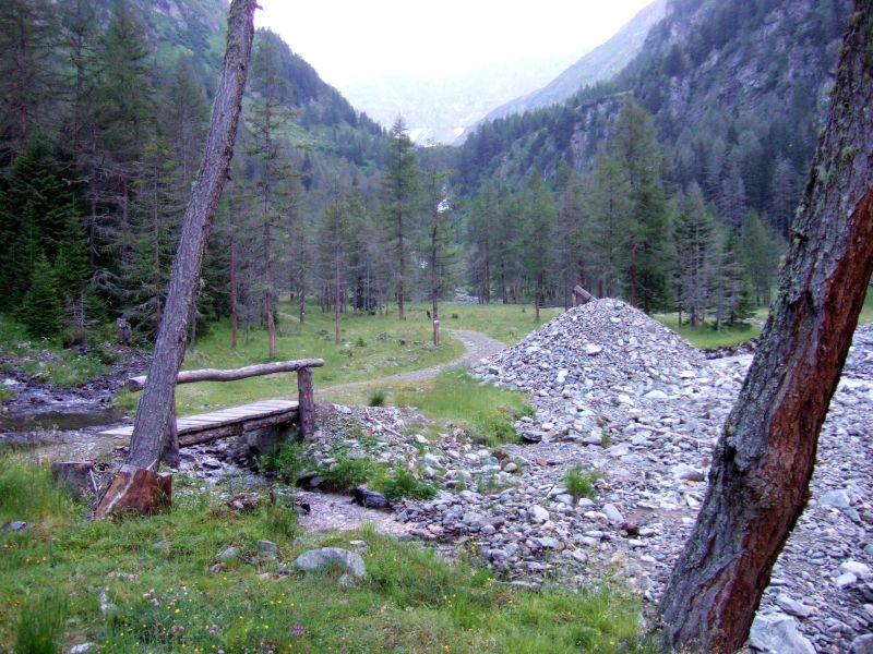 Foto: Ingo Gräber / Wander Tour / Aus dem Göriachtal auf den Hochgolling (2862m) / Kurz hinter den Göriachalmen / 05.10.2013 17:30:56