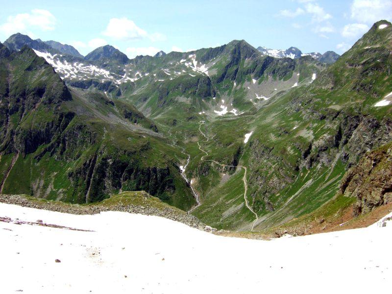 Foto: Ingo Gräber / Wander Tour / Aus dem Göriachtal auf den Hochgolling (2862m) / Abstieg von der Gollingscharte / 05.10.2013 17:26:25