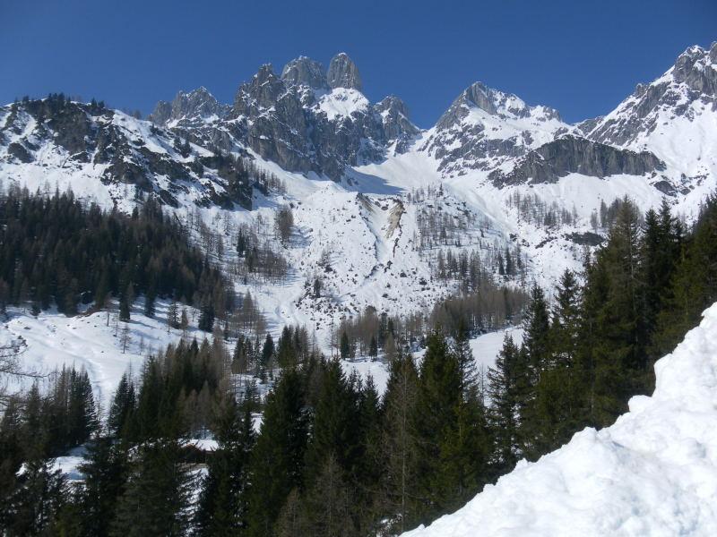 Foto: Wolfgang Lauschensky / Wander Tour / Hofalmwanderung - Filzmoos / Untere Stuhllochscharte zwischen Bischofsmütze und Armkarwand / 22.03.2016 18:43:50