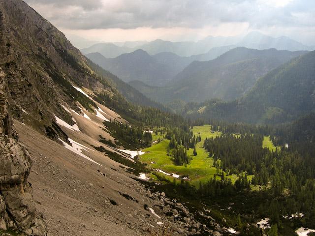 Foto: Jodeli / Wander Tour / Große Gesäusedurchquerung mit Überschreitung des Lugauer (2217m) / Sulzkaralm / 14.06.2009 21:03:09