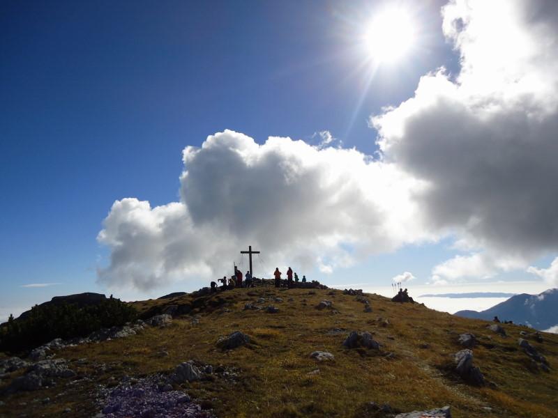 Foto: Günter Siegl / Wandertour / Von Bleiburg auf die Hochpetzen (2114m) / Gipfel Feistritzer Spitze (Hochpetzen) / 13.11.2016 18:59:08