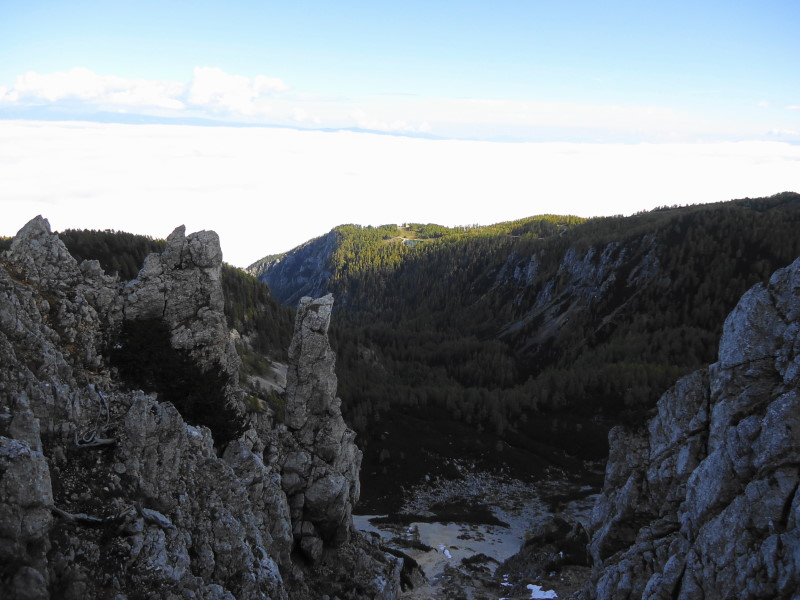 Foto: Günter Siegl / Wander Tour / Von Bleiburg auf die Hochpetzen (2114m) / Bergstation / 13.11.2016 19:01:28