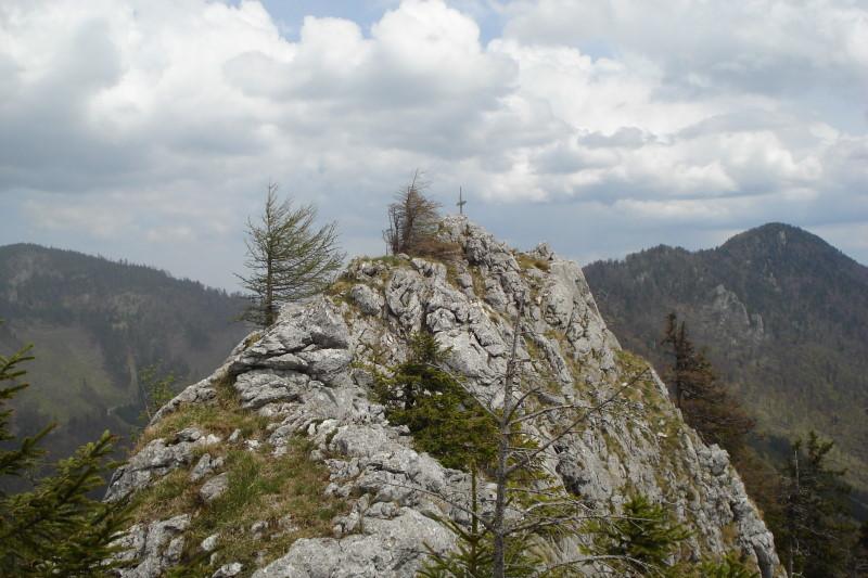 Foto: Günter Siegl / Wander Tour / Vom Traunsee auf den Hochkogel / SW-Grat Wandlkogel. / 30.04.2011 21:44:35