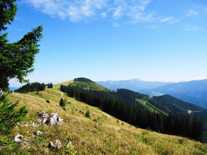 Foto: Günter Siegl / Wander Tour / Von Hütte zu Hütte über den Königsberg / Rückblick Schwarzkogel / 13.10.2015 21:06:56