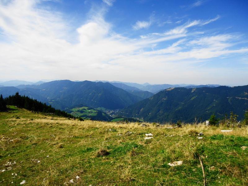 Foto: Günter Siegl / Wander Tour / Von Hütte zu Hütte über den Königsberg / Hollenstein im Tale / 13.10.2015 21:04:38