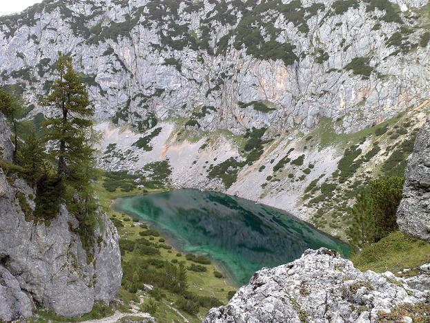 Foto: iedow / Wandertour / Durch die Silberkarklamm zum Hölltalsee / Silberkarsee Ramsau am Dachstein<br>from Ido aus Holland / 06.01.2009 12:16:51