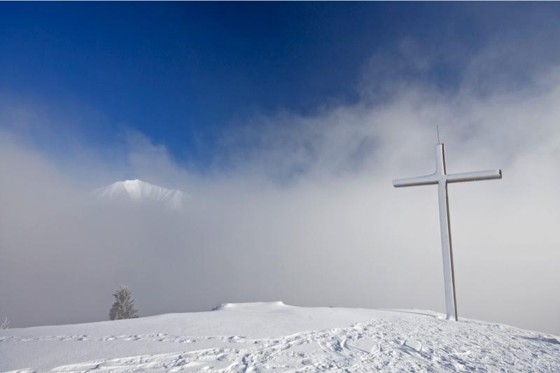 Foto: clickpix / Wander Tour / Feilalm - Pletzachalm / Der Nebel lichtet sich / 29.12.2008 12:38:58
