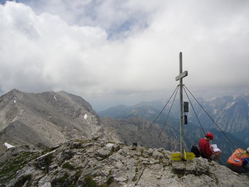 Foto: Günter Siegl / Wander Tour / Gratwanderung über den Hochmölbing zum Schrocken  / Schrocken / 02.08.2013 21:43:23