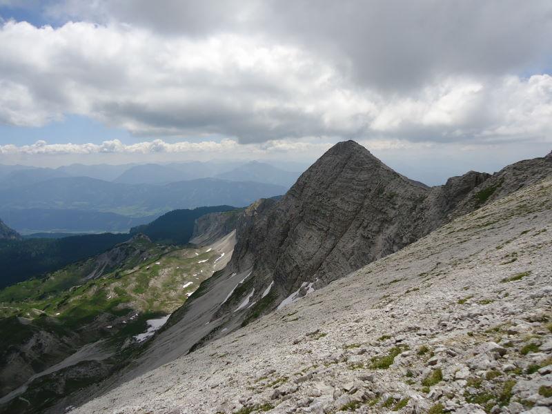 Foto: Günter Siegl / Wander Tour / Gratwanderung über den Hochmölbing zum Schrocken  / 02.08.2013 21:42:47