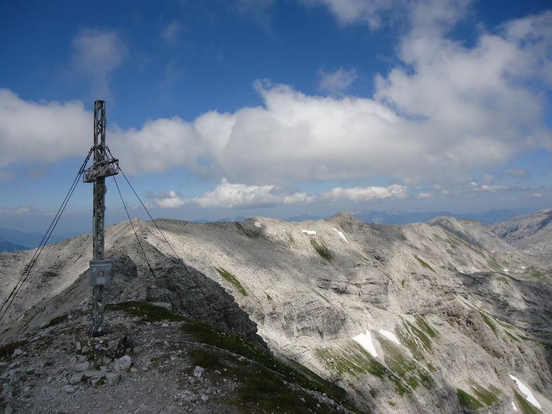 Foto: Günter Siegl / Wander Tour / Gratwanderung über den Hochmölbing zum Schrocken  / Hochmölbing / 02.08.2013 21:42:40