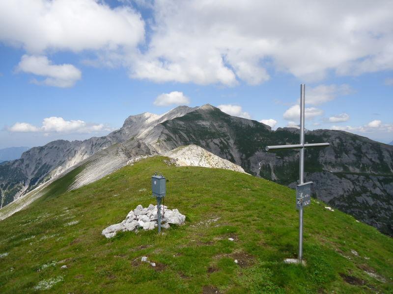 Foto: Günter Siegl / Wander Tour / Gratwanderung über den Hochmölbing zum Schrocken  / Kleinmölbing / 02.08.2013 21:42:11