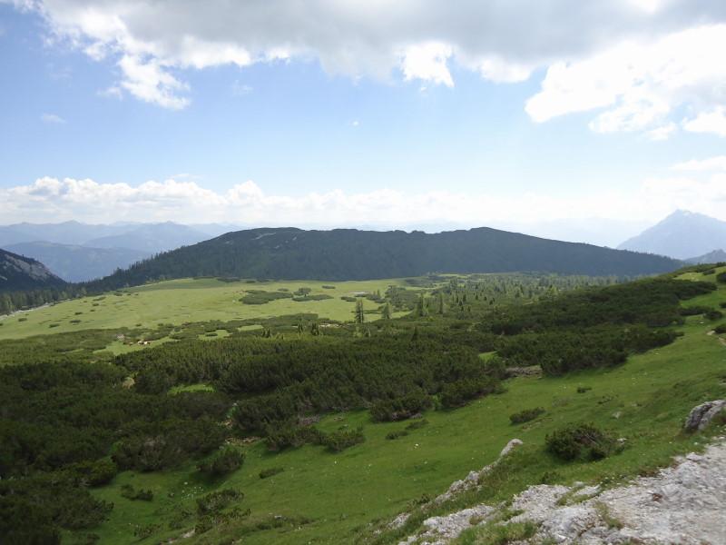 Foto: Günter Siegl / Wander Tour / Gratwanderung über den Hochmölbing zum Schrocken  / Zur Hochmölbinghütte / 02.08.2013 21:41:30