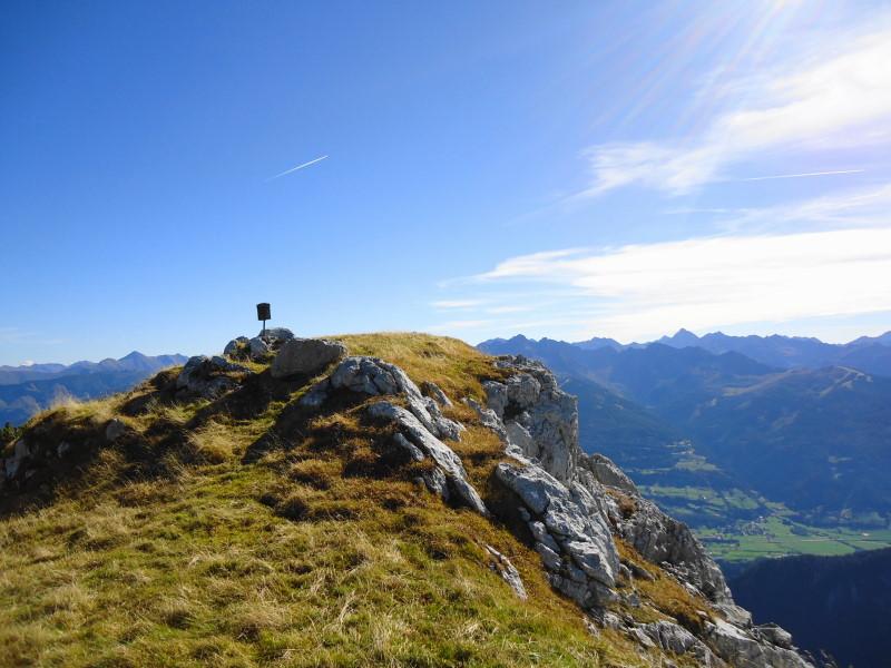 Foto: Günter Siegl / Wander Tour / Großer Miesberg und Luserwand / Gipfel Luserwand / 31.10.2014 09:56:54