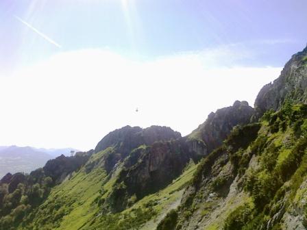 Foto: Karina Umdasch (Redaktion) / Wander Tour / Von Glanegg über den Dopplersteig zum Geiereck-Gipfel / nach ungefähr der Hälfe / 19.07.2011 17:47:01