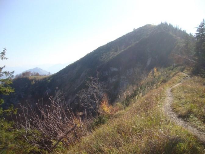 Foto: Wolfgang Dröthandl / Wander Tour / Über die Ennser Hütte auf den Almkogel / Almkogel - Ostabstürze / 16.10.2018 14:37:26