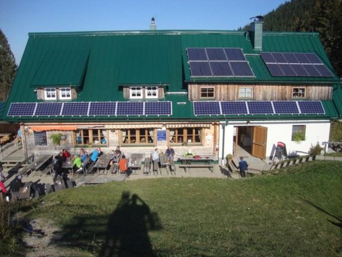 Foto: Wolfgang Dröthandl / Wander Tour / Über die Ennser Hütte auf den Almkogel / Die neu renovierte Ennser Hütte  / 16.10.2018 14:36:37