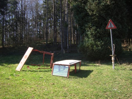 Foto: Wolfgang Dröthandl / Wander Tour / Gföhlberg - zweithöchster Gipfel des Wienerwaldes / Auf der Klammhöhe... / 03.04.2017 09:20:59