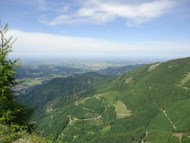Foto: Günter Siegl / Wander Tour / Von Scharnstein auf den Windhagkogel / Blick auf das (kleine) Maisenkögerl / 07.06.2012 21:28:35