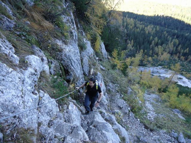 Foto: Günter Siegl / Wander Tour / Bad Aussee - Pötschenpass - Sarsteingipfel / 22.10.2012 08:36:49