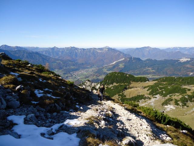 Foto: Günter Siegl / Wander Tour / Bad Aussee - Pötschenpass - Sarsteingipfel / 22.10.2012 08:35:43