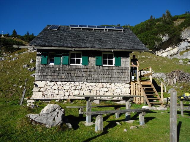 Foto: Günter Siegl / Wander Tour / Bad Aussee - Pötschenpass - Sarsteingipfel / Sarsteinalm / 22.10.2012 08:34:09