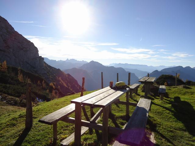 Foto: Günter Siegl / Wander Tour / Bad Aussee - Pötschenpass - Sarsteingipfel / 22.10.2012 08:34:01