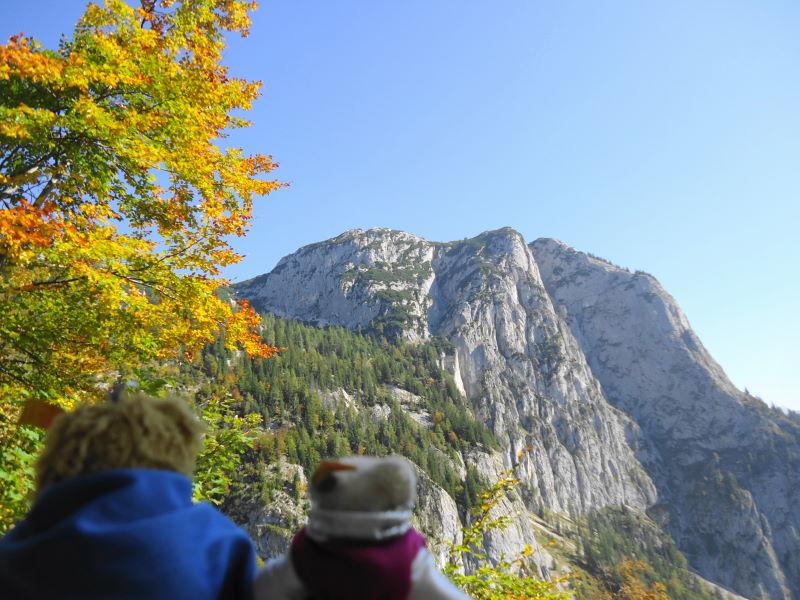 Foto: Günter Siegl / Wander Tour / Grundlsee - Backenstein (1.772 m) / 29.10.2014 21:12:30