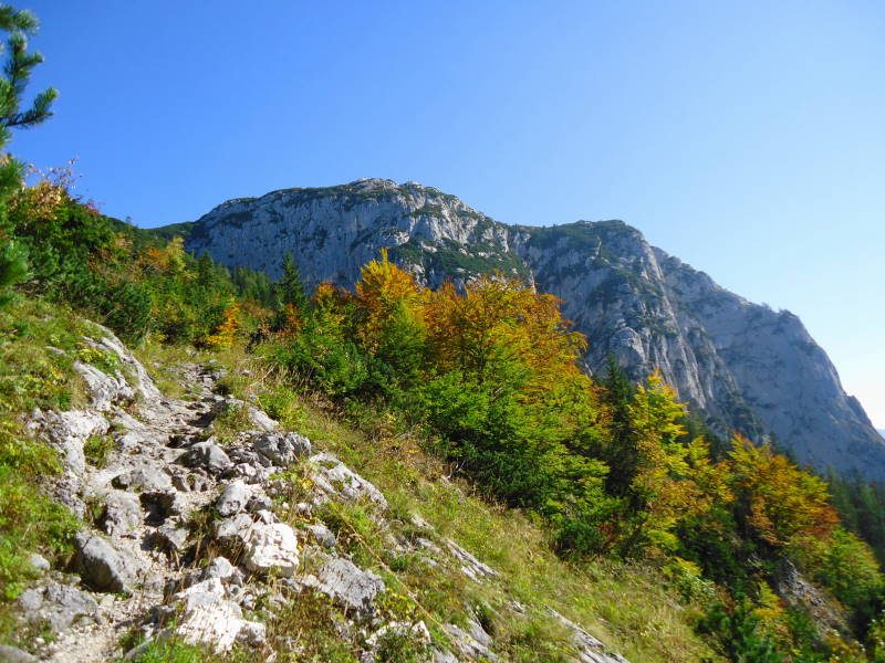 Foto: Günter Siegl / Wander Tour / Grundlsee - Backenstein (1.772 m) / 29.10.2014 21:11:58