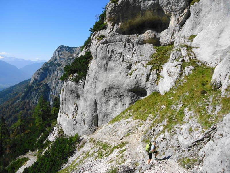 Foto: Günter Siegl / Wander Tour / Grundlsee - Backenstein (1.772 m) / 29.10.2014 21:11:06