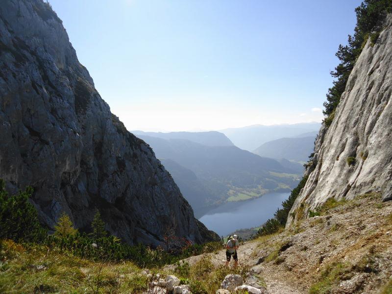 Foto: Günter Siegl / Wandertour / Grundlsee - Backenstein (1.772 m) / 29.10.2014 21:10:54