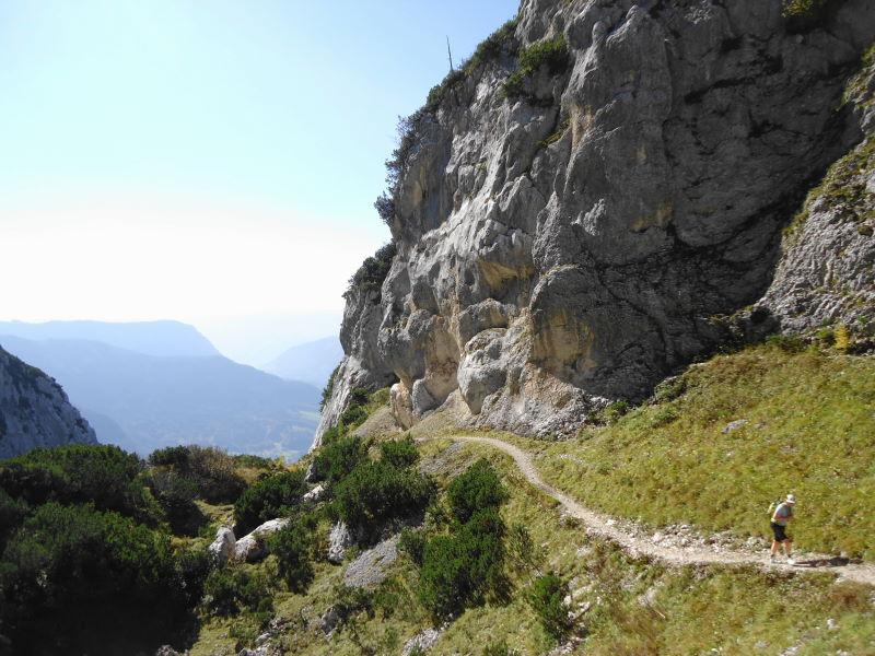 Foto: Günter Siegl / Wander Tour / Grundlsee - Backenstein (1.772 m) / 29.10.2014 21:10:48