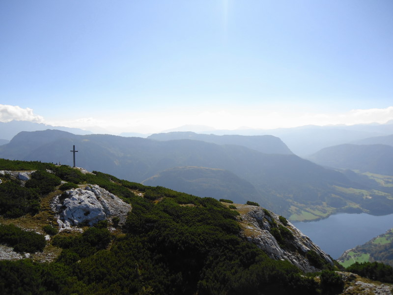 Foto: Günter Siegl / Wandertour / Grundlsee - Backenstein (1.772 m) / 29.10.2014 21:10:32