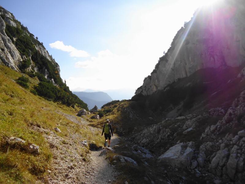 Foto: Günter Siegl / Wander Tour / Grundlsee - Backenstein (1.772 m) / 29.10.2014 21:08:17