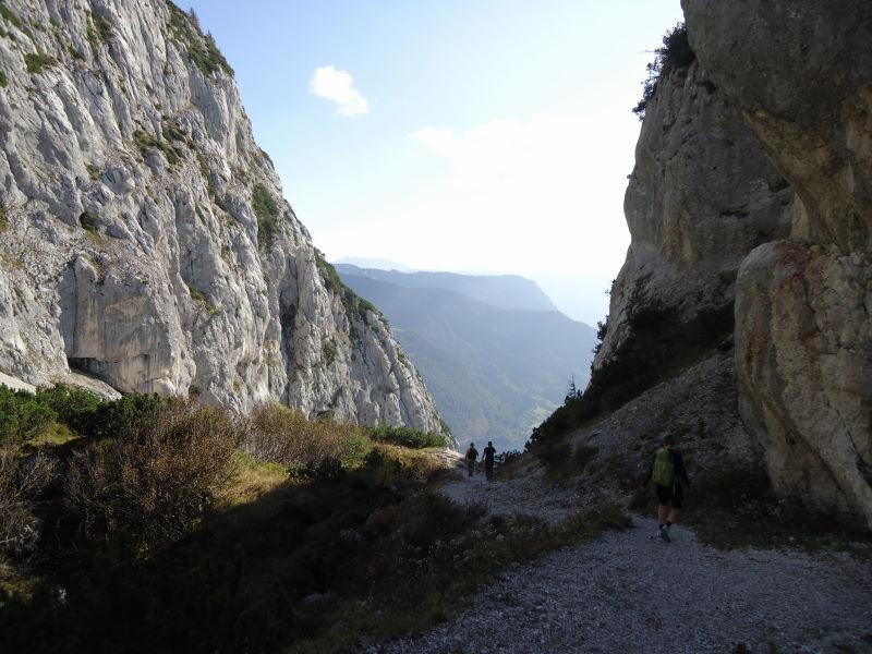 Foto: Günter Siegl / Wander Tour / Grundlsee - Backenstein (1.772 m) / 29.10.2014 21:08:02