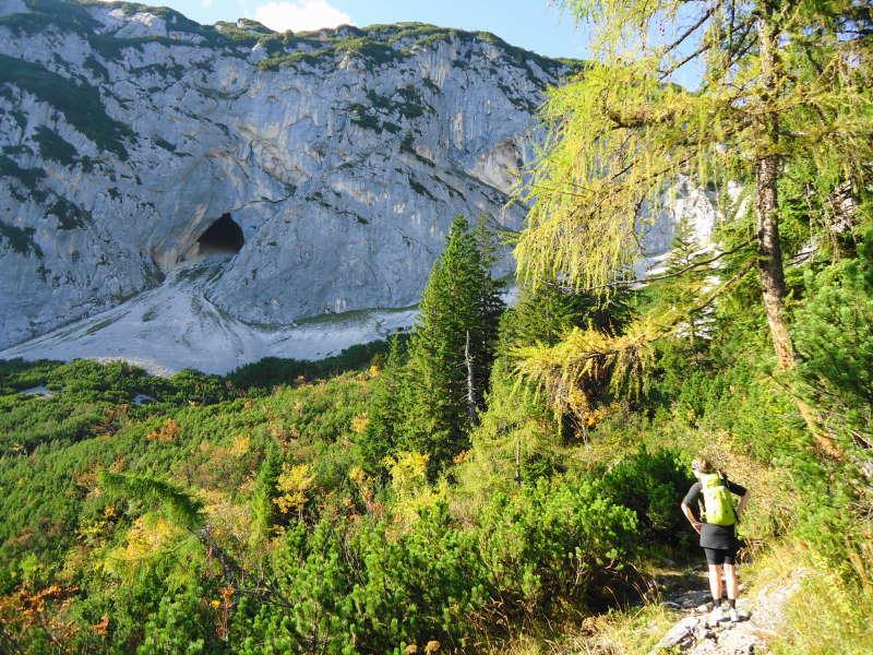 Foto: Günter Siegl / Wander Tour / Grundlsee - Backenstein (1.772 m) / 29.10.2014 21:07:54