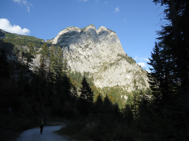 Foto: Günter Siegl / Wander Tour / Grundlsee - Backenstein (1.772 m) / Backenstein / 29.10.2014 21:06:52